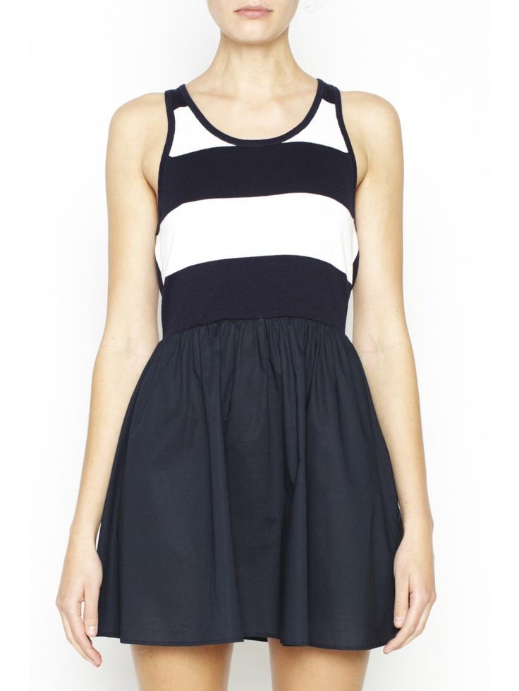 Carter Dress Crop - Classic look