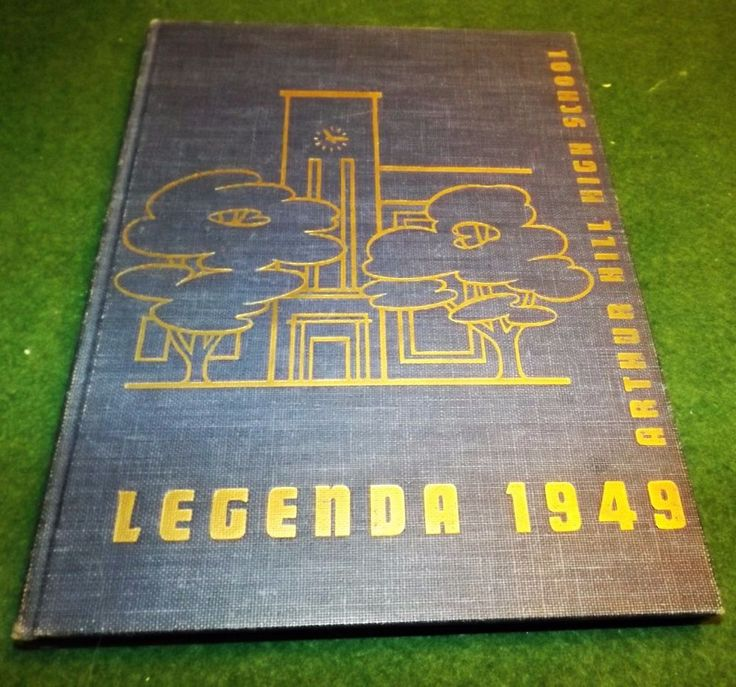 saginaw arthur hill yearbook 1949 legenda saginaw michigan pictures