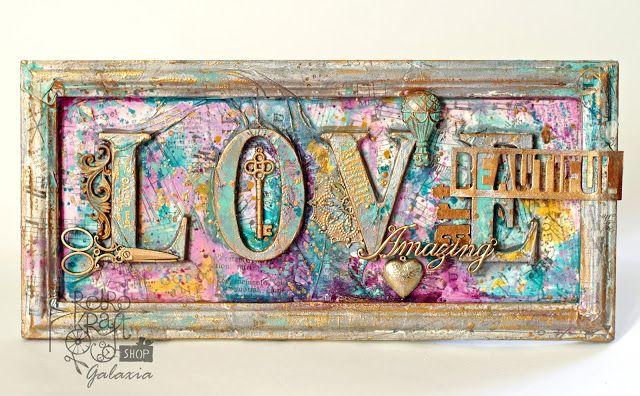 Retro Kraft Shop: Retro Inspiracje: Miłość jest... / Retro Inspirations: Love is...