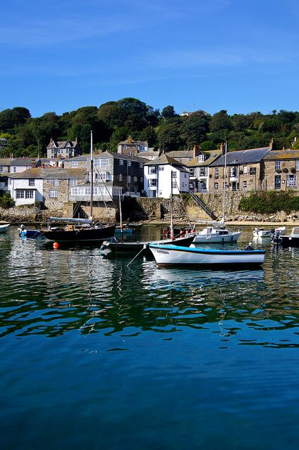 Mousehole, Cornwall - the home of the blockbuster movie 'Summer in February'