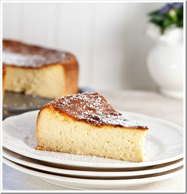 Ricotta cheesecake - a longstanding easter tradition in the Braund household. <3