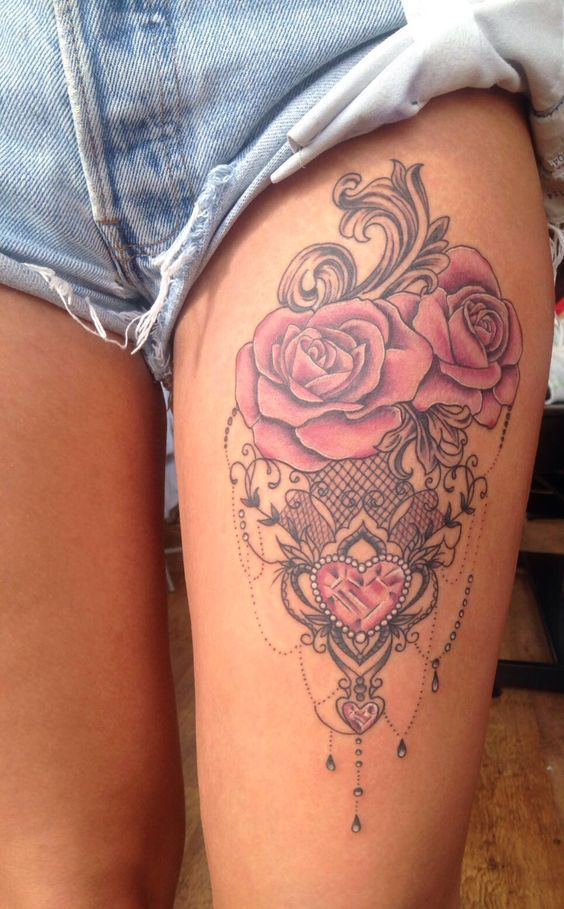 These Floral Girl Tattoos That Will Beautify Your Body