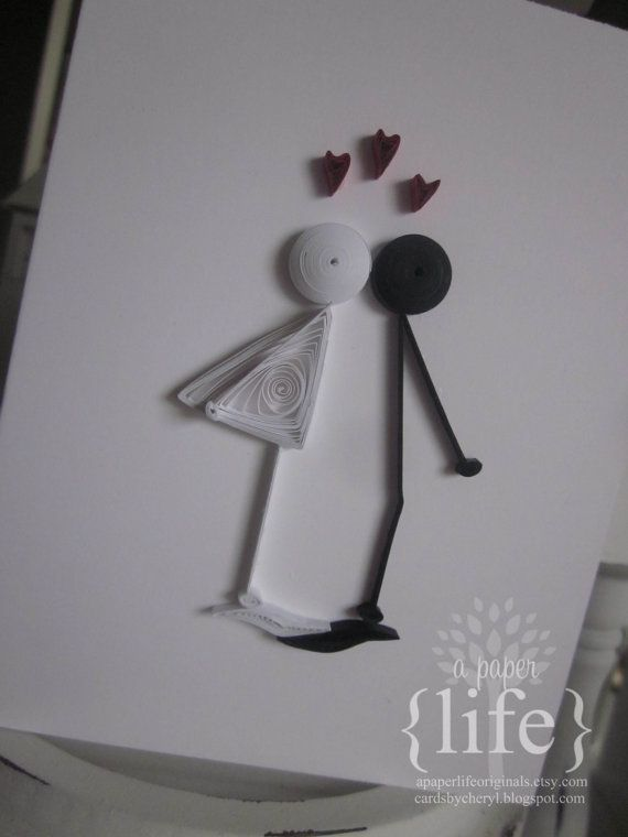 Hey, I found this really awesome Etsy listing at https://www.etsy.com/listing/153085499/quilled-kissing-couple-valentines