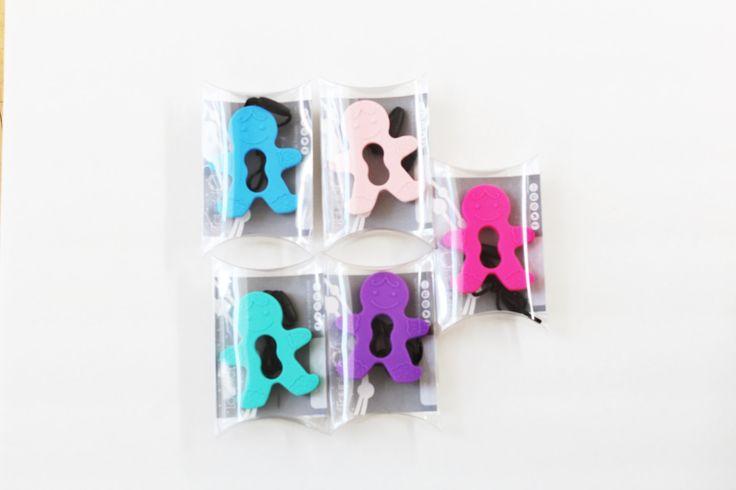 1 jouet de dentition bonhomme pain d'épices de la boutique ToupidouAccessoires sur Etsy