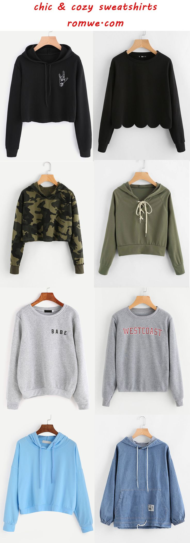 chic sweatshirts from romwe.com