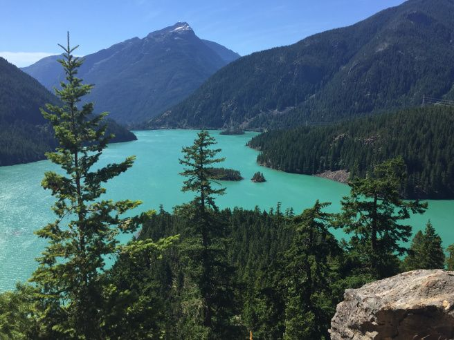 Diablo Lake estado de Washington