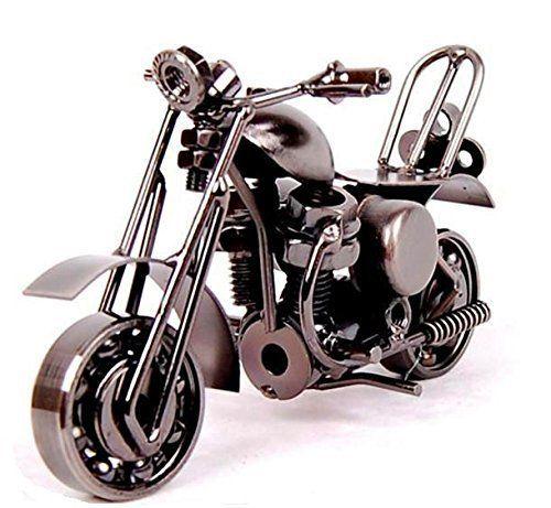 EQLEF® Creative modèle de moto de fer moto ornements modernes personnalisé cadeau d'anniversaire pour son petit ami Props Photographie:…
