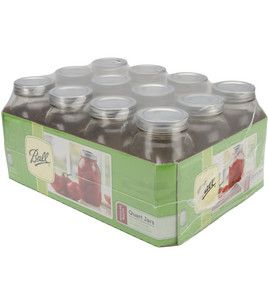 Quart @Robin S. S. Hawk® Canning jars! perfect for those #ball jar projects :)
