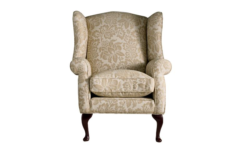 Denbigh Upholstered Wing Chair - Laura Ashley made to order