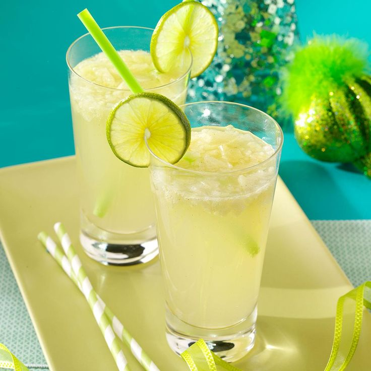 Pear Ginger Mojito Recipe -A pear, flavored vodka, ginger beer and cinnamon syrup turn a traditional mojito into a seasonal refresher for fall and winter. Add a lime slice to each glass for a festive garnish. —Taste of Home Test Kitchen