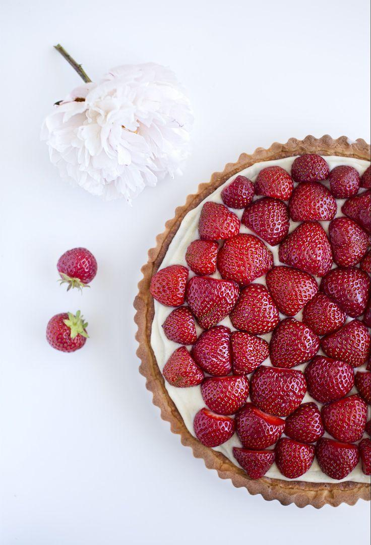 Jordbærtærte!
