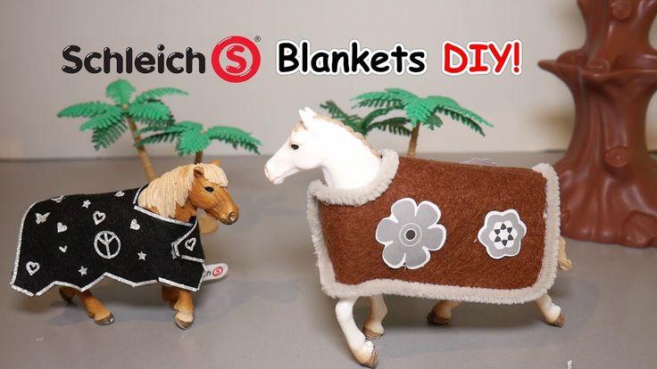 Diy schleich blanket easy schleich horse blankets