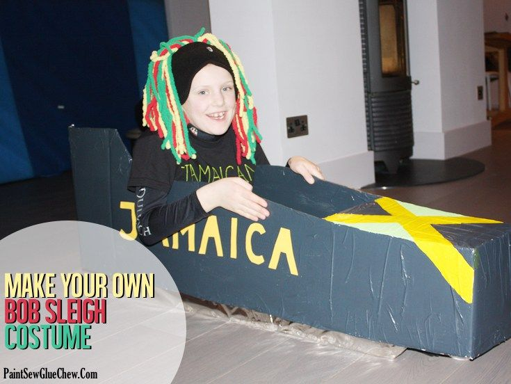 Make Your Own Bobsleigh Costume Instructions