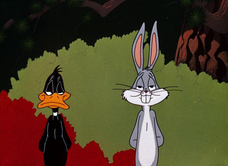 Rabbit Seasoning, Bugs Bunny and Daffy Duck