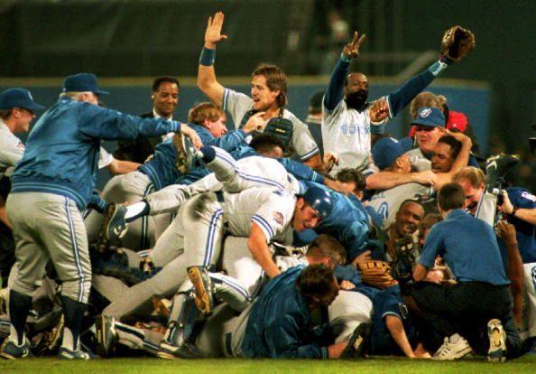 1992 World Series champion Toronto Blue Jays.