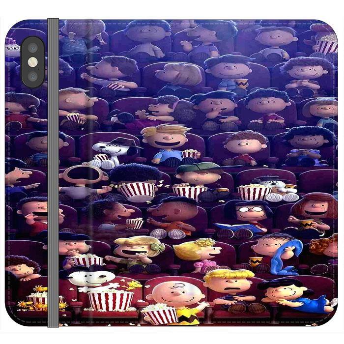 Peanuts Movie 2015 Poster iPhone XS Flip Case