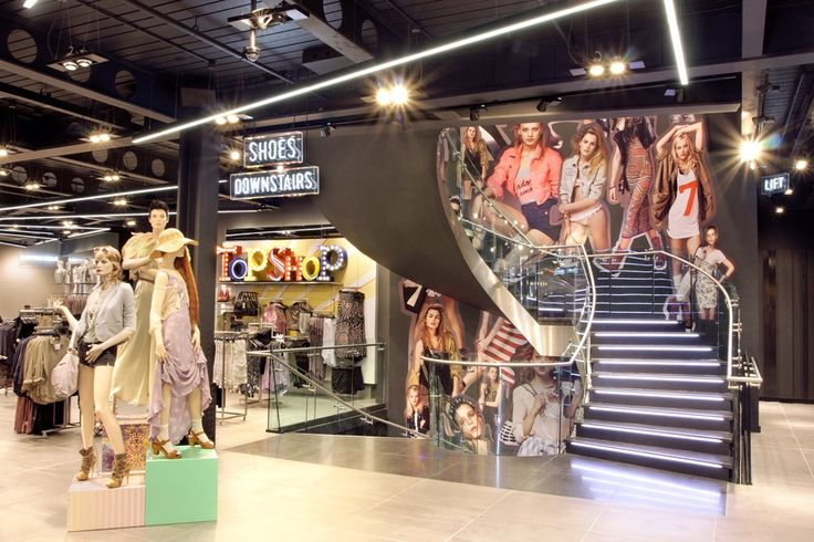 Topshop Store Interior by Elemental Design. | Retail ...