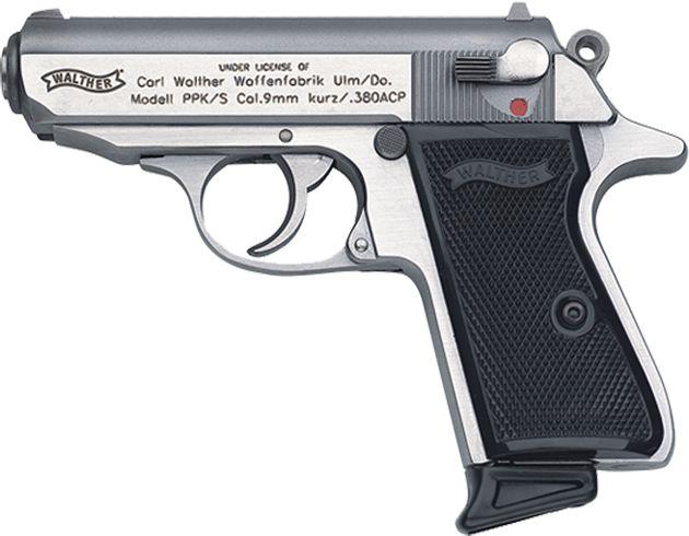 My favorite handgun. The walther PPK. Also, James Bond. -Johnnie