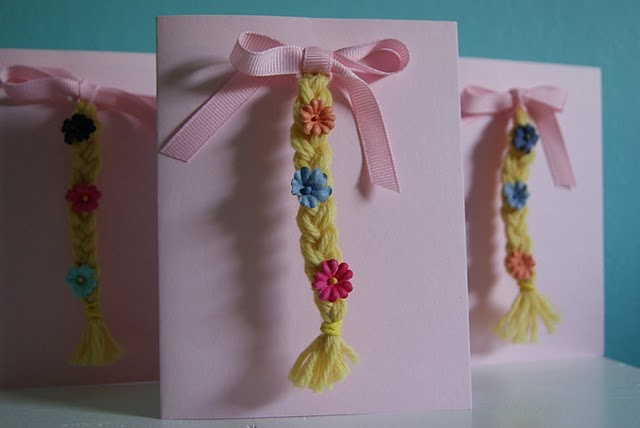 @Holly Schack Martinez Check out these cute Tangled invitations! More of a Princess Rapunzel party on that blog too!