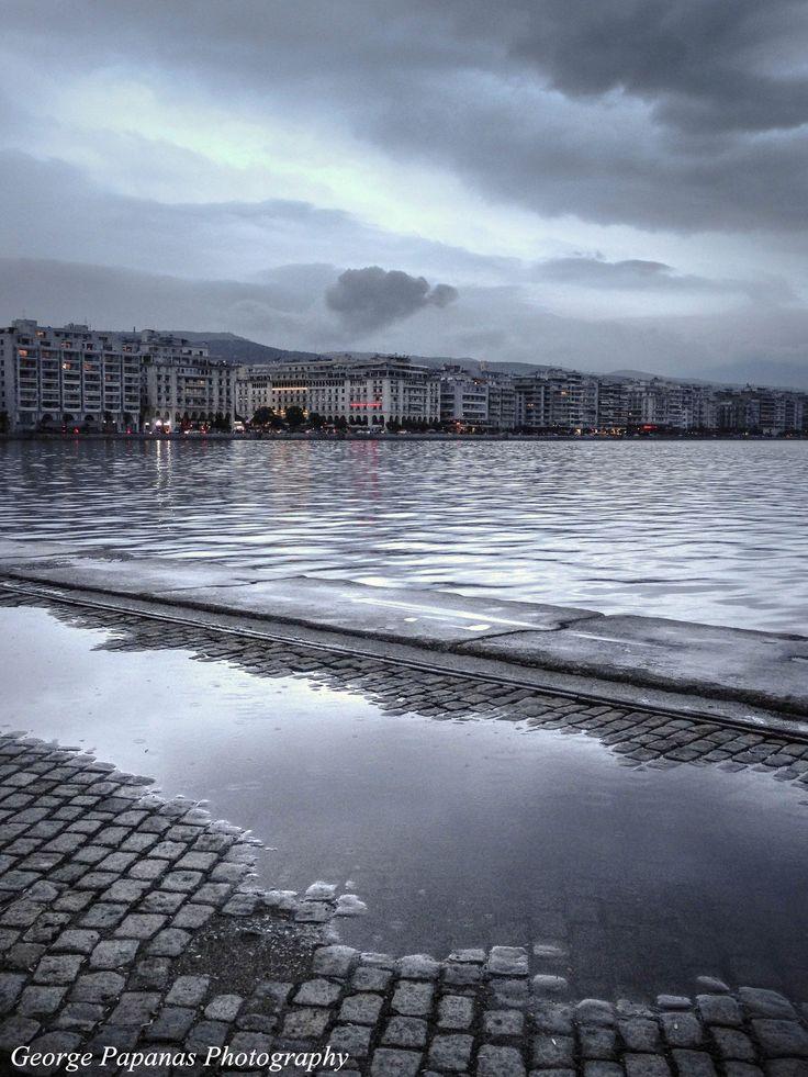 Βροχερή Θεσσαλονίκη... Thessaloniki