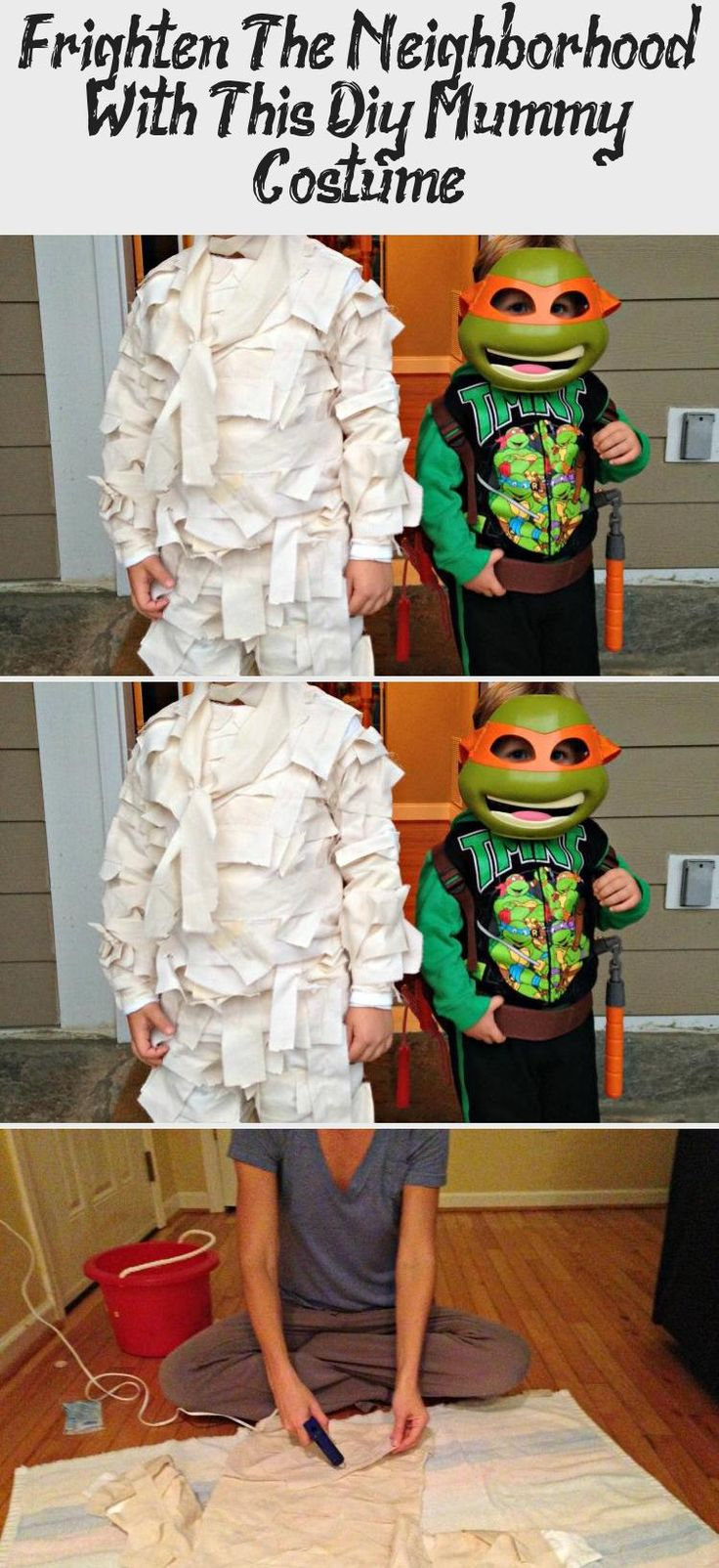 My Blog En Blog in 2020 Diy mummy costume, Mummy