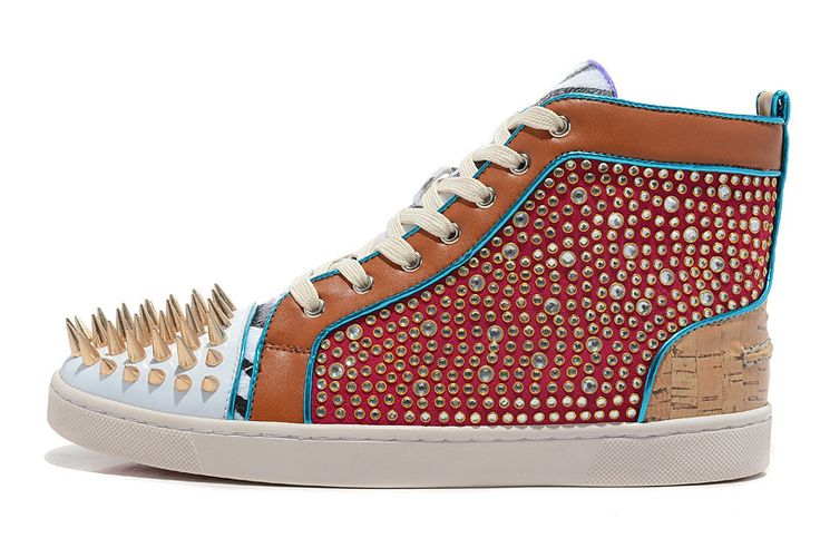 Buy New Mens Spikes Red Bottom Sneakers Rhinestone Crystal Red Bottom No Limit Strass Flat Shoes from Reliable red bottom sneakers suppliers on http://www.aliexpress.com/store/718906 $179.99