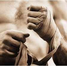 Boxers Need To Tape Their Hands Under The Boxing Gloves In Order To Keep From Crushing Their
