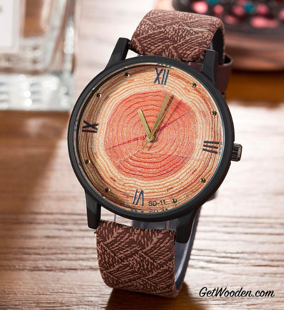 Bamboo Wooden Retro Watch