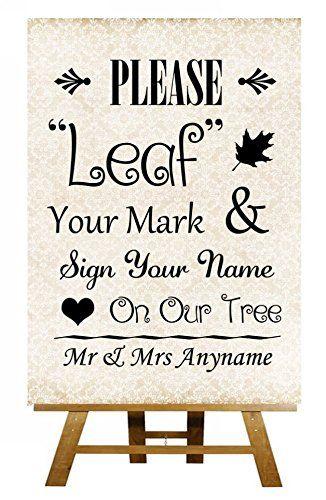 A5 Shabby Chic Fingerprint Tree Instructions Personalised Wedding Sign / Poster Fingerprint Designs http://www.amazon.co.uk/dp/B00TE9ZNPK/ref=cm_sw_r_pi_dp_2qQiwb0NFV95Y