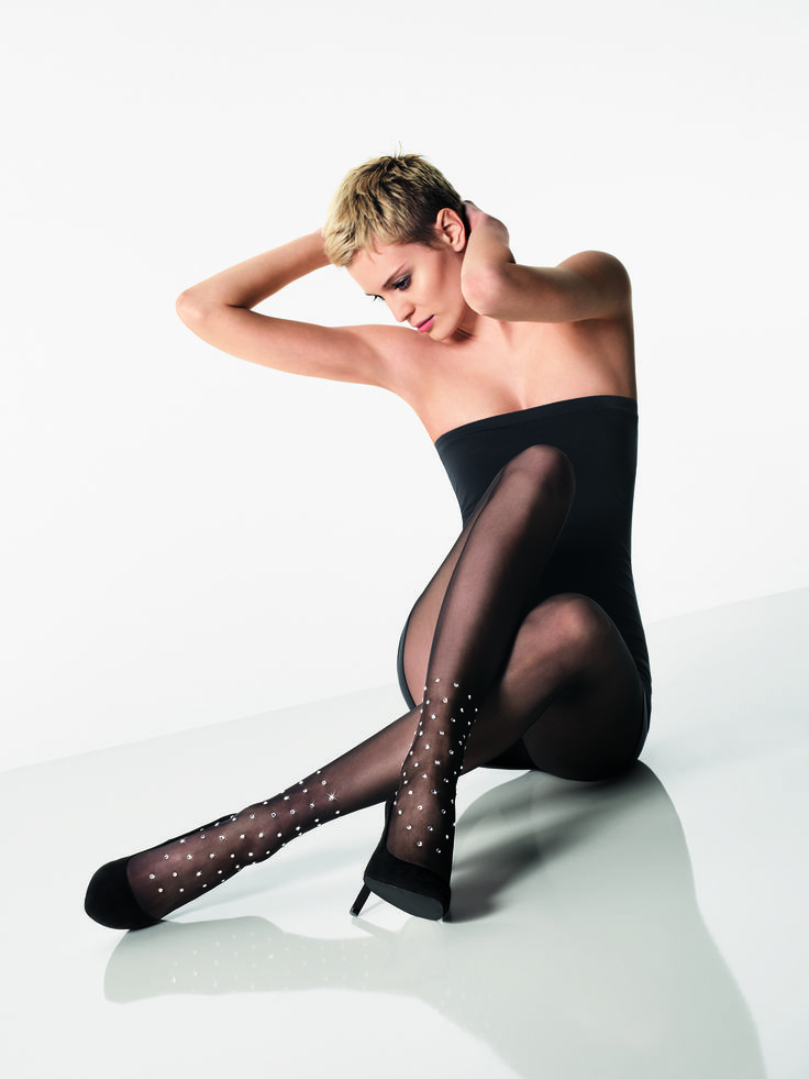 Abby Tights by Wolford offer a wow effect as they are elegantly embellished with Swarovski elements