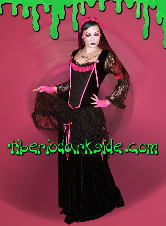 Phaze - Vestido Isabella Rosas Encaje