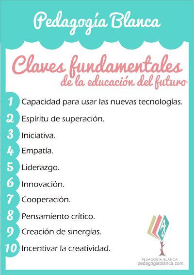 Descarga e imprime las 10 claves fundamentales de la educación del futuro: http://tinyurl.com/q4gxnnx