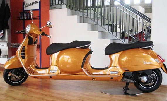 Vespa Four Seater Stretch Scooter
