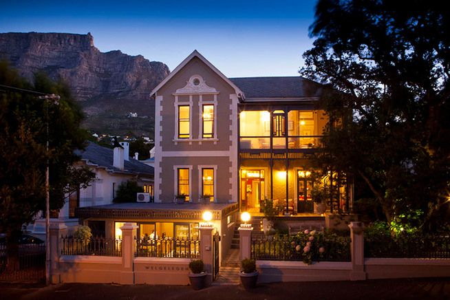 Welgelegen Boutique Hotel. Hidden away in the heart of Cape Town's city bowl, with magnificent views of Table Mountain, this beautiful town house is a perfect base to explore the bustling cafes and restaurants of trendy Kloof Street. Fiona, the owner, has clearly thought about every detail. From the cozy sitting room, filled with local art, to the breakfast room that transforms into a self-serve cocktail bar in the evening. . Best hotels in Cape Town. Timbuktu Travel