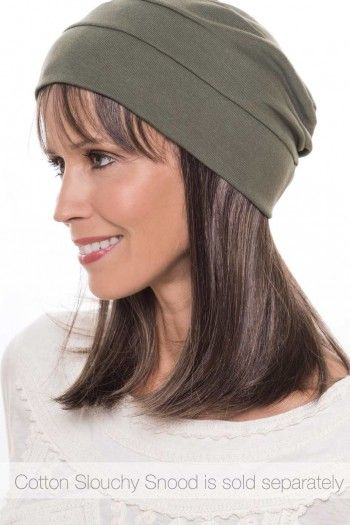 670fb59b74aaa Cardani Long Hair Halo with Detachable Bangs - Hairpiece for Hats - Hats  with Hair