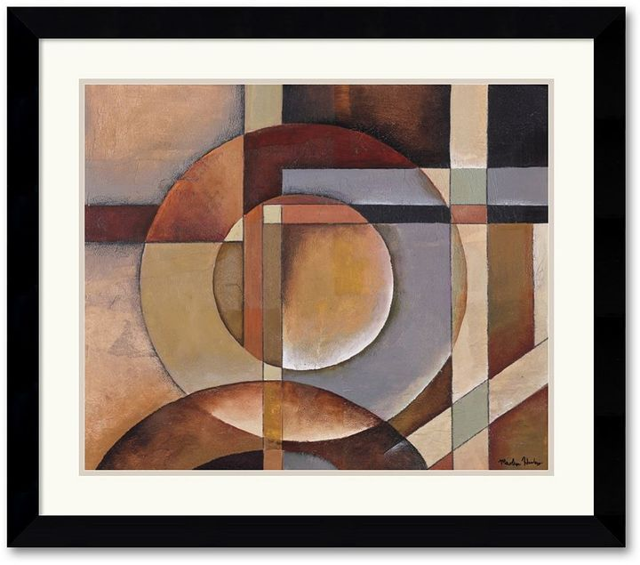 Abstract wall art is sophisticated and modern amanti art elements of magic framed