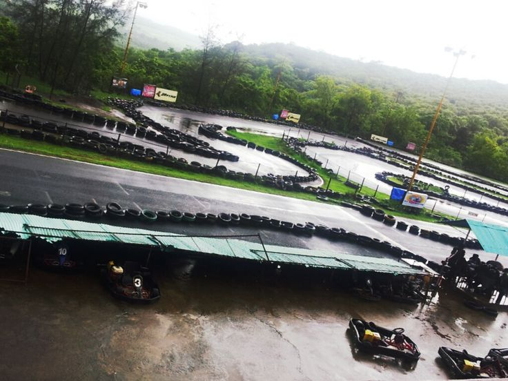 """Touted to be the best Go-Karting track in the country, this track boasts of a A1 ring type of circuit, designed and conceived by Swiss and German engineers.  Coordinates:   15°19'45""""N   73°56'22""""E"""
