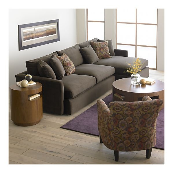 The Lounge sectional is so comfy and deep. Covet.