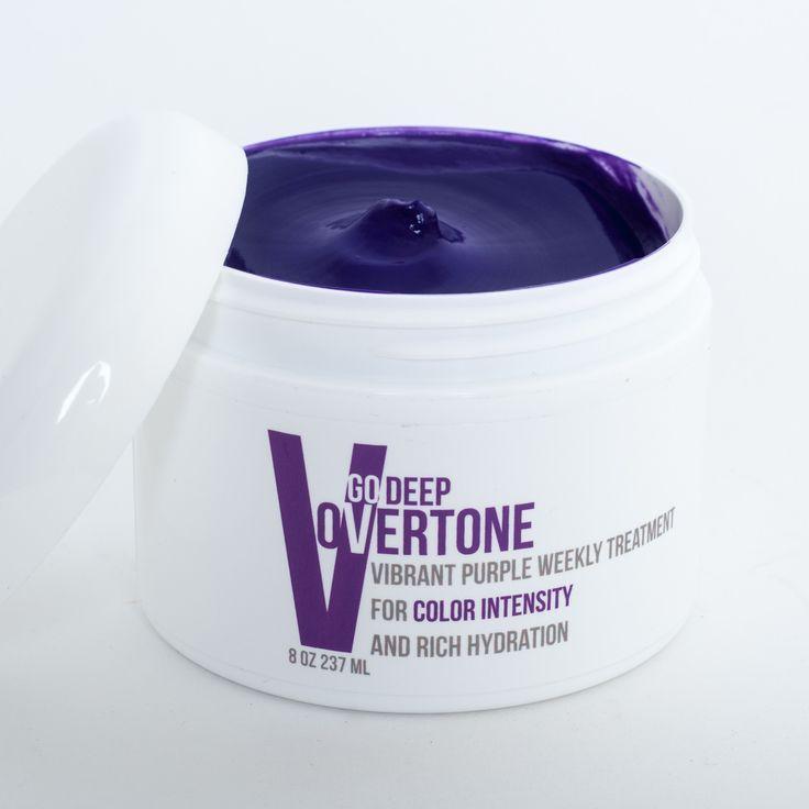 Traitement de couleur mauve / Purple hair treatment ♤Melyk
