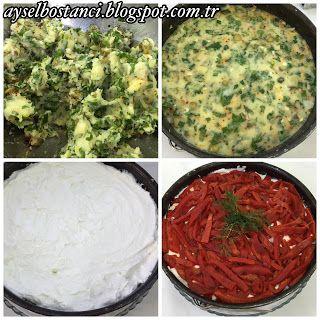 Malzemeler:   4-5 tane orta boy patates   10 tane kornişon turşu   Yarım demet soğan   Yarım demet maydanoz   3 yemek kaşığı zeytinyağı...