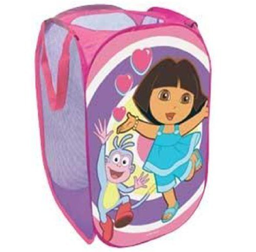 DORA THE EXPLORER POP UP FOLDING LAUNDRY BASKET BAG BIN TOY TIDY STORAGE 012759 Dora the Explorer http://www.amazon.co.uk/dp/B00186EE3O/ref=cm_sw_r_pi_dp_Brw3wb0PD4ZMY