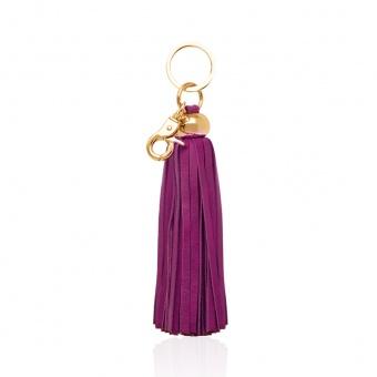 russel+hazel tassel key chain