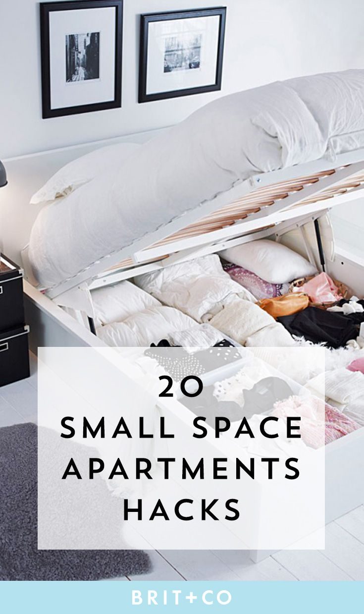 Best 25 studio apt ideas on pinterest studio apartments for Small space living hacks