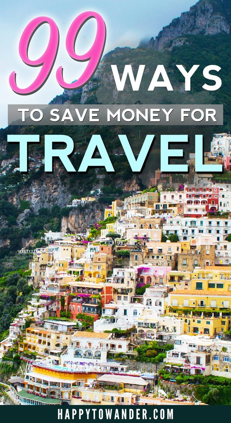 An absolutely amazing list full of ways you can save money to travel! Budget tips, travel tips and more for saving money before you hit the road and also when you're on the road. A must-pin for any traveller!