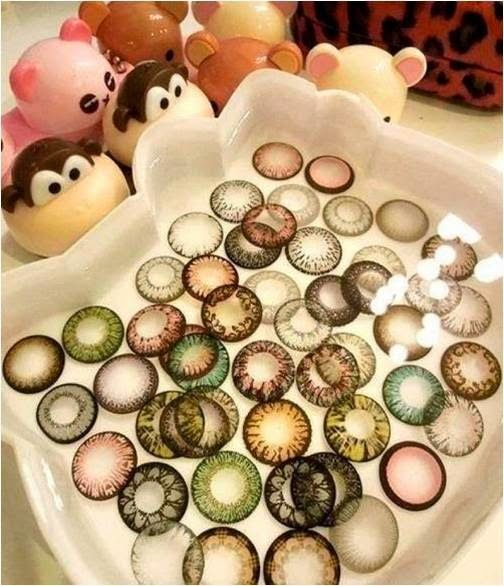 It is easy to organize your circle & colored contact lenses; you just need to spend some time & should have a sense to have the things settl...
