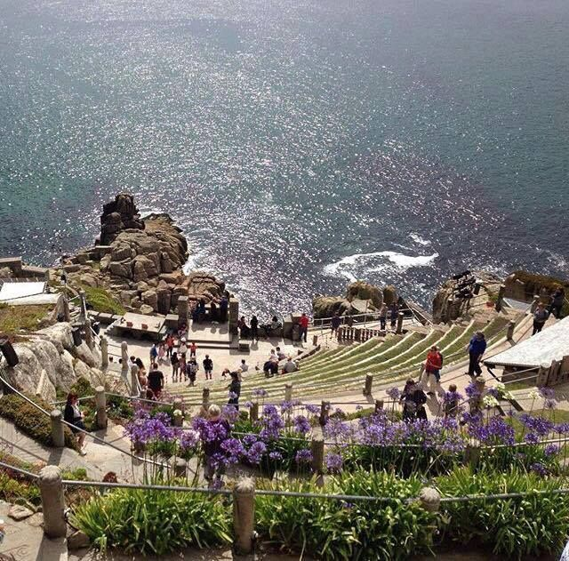 Select Cornwall Looking down over the Minack Theatre in west Cornwall.