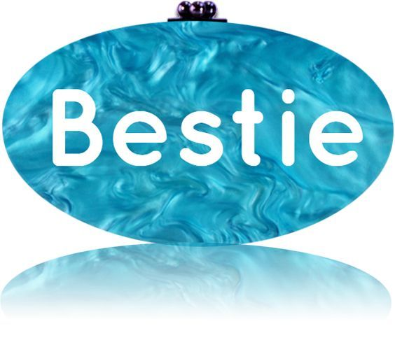 Happy Best Friend's Day 2016  Customized your clutch in the Design Studio at AlysseSterling,com