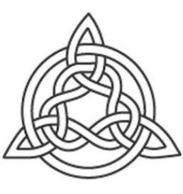 Disegno per tatuaggio nodo celtico Tyrone
