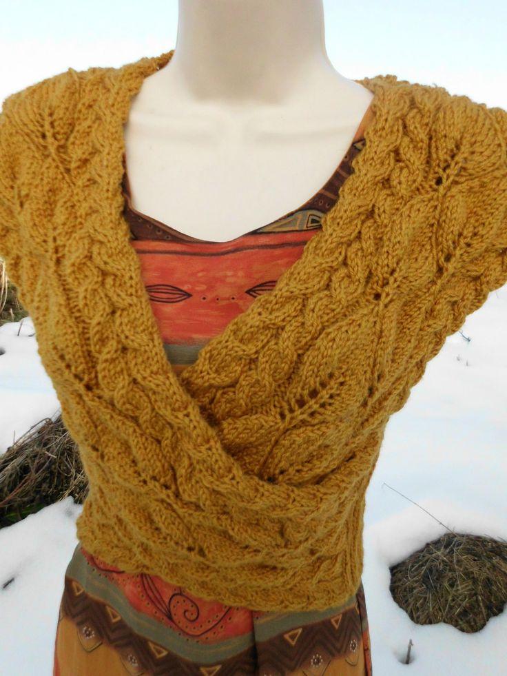 comment tricoter un cache coeur