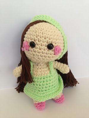 La Carmelita Amigurumi: Sweet doll. Free pattern amigurumi!